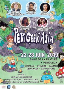 Perigeek Asia 2019 affiche - Pixn Toast