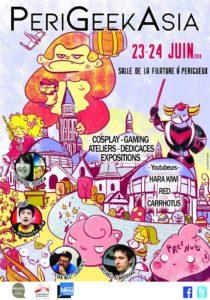 Perigeek Asia 2018 affiche - Pixn Toast