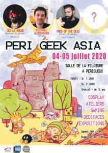 Perigeek Asia 2020 affiche - Pixn Toast